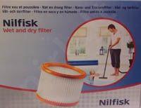 NILFISK Multi 20/30 Wet&Dry D.s. filtras