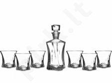 Komplektas viskiui: grafinas su taurėmis 1 + 6 112683