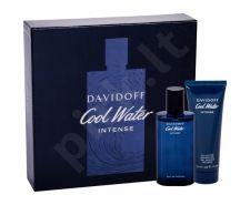 Davidoff Intense, Cool Water, rinkinys kvapusis vanduo vyrams, (EDP 75 ml + dušo želė 75 ml)