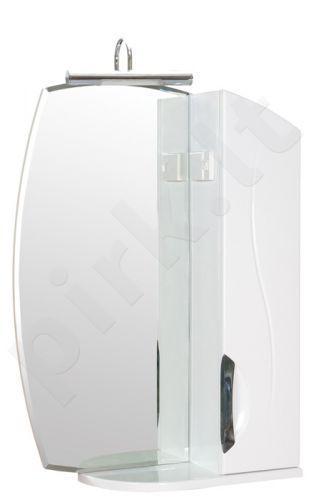 Spintelė pakabinama su veidrodžiu ZGLP55(R) Glorija