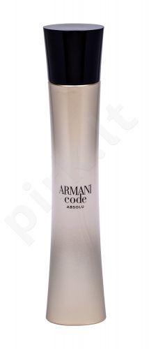 Giorgio Armani Code, Absolu, kvapusis vanduo moterims, 75ml