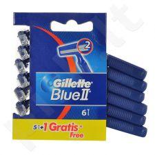 Gillette Blue II, skutimosi peiliukai vyrams, 6pc
