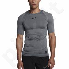 Marškinėliai termoaktyvūs Nike Pro Compression SS M 838091-091