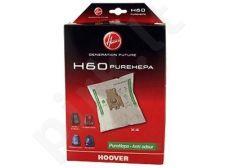 Dulkių siurblio maišelis Hoover H60 (4vnt.)