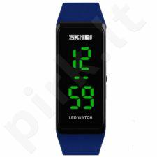 Vaikiškas, Moteriškas laikrodis SKMEI 1265 DARK BLUE