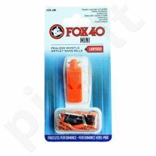 Švilpukas FOX40 Mini Safety +virvutė 9803-0308