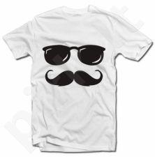 Marškinėliai (Dydis XXL) spalva balta
