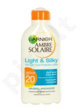 Garnier Ambre Solaire, Light & Silky SPF20, Sun kūno losjonas moterims, 200ml