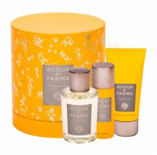 Acqua di Parma Pura, Colonia, rinkinys Eau de odekolonas moterims ir vyrams, (Cologne 100 ml + dušo želė 75 ml + dezodorantas 50 ml)