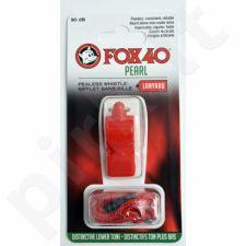 Švilpukas FOX 40 Pearl + virvutė 9703-0108 raudonas