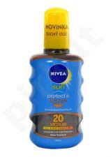 Nivea Sun, Protect & Bronze Oil Spray, Sun kūno losjonas moterims ir vyrams, 200ml