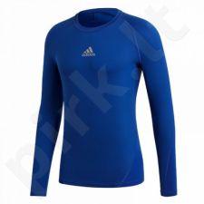 Marškinėliai termoaktyvūs adidas Junior ASK LS Tee Y CW7323