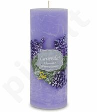 Lawenda Fiolet Žvakė Garden Apvali Didelė