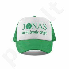"""Kepuraitė """"Jonas nori šventę švęst"""""""