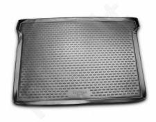 Guminis bagažinės kilimėlis PEUGEOT Partner Tepee 2008-> (Comfort, wagon) black /N30022