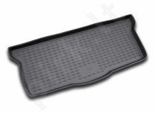 Guminis bagažinės kilimėlis PEUGEOT 107 2005-> black /N30001