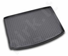 Guminis bagažinės kilimėlis PEUGEOT 206 hb 1998-2010 black /N30002