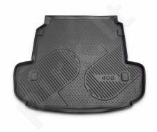 Guminis bagažinės kilimėlis PEUGEOT 408 sedan 2012-> black /N30018