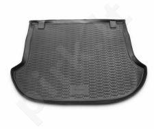 Guminis bagažinės kilimėlis NISSAN Murano 2008-2015  black /N28008