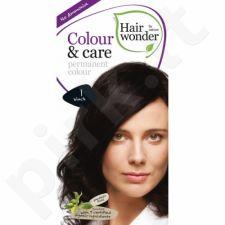 Colour & Care ilgalaikiai plaukų dažai be amoniako  Black