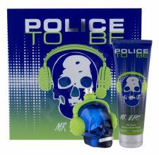 Police Mr Beat, To Be, rinkinys tualetinis vanduo vyrams, (EDT 75 ml + dušo želė 100 ml)