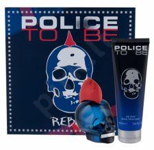 Police Rebel, To Be, rinkinys tualetinis vanduo vyrams, (EDT 75 ml + dušo želė 100 ml)