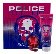 Police Miss Beat, To Be, rinkinys kvapusis vanduo moterims, (EDP 75 ml + kūno losjonas 100 ml)