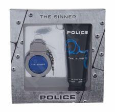 Police The Sinner, rinkinys tualetinis vanduo vyrams, (EDT 30 ml + dušo želė 100 ml)