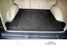 Guminis bagažinės kilimėlis FIAT Doblo Cargo Maxi 2015-> ,black /N13013