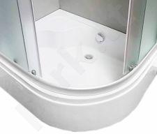 Padas dušo kabinai pusiau gilus 100x80 kairinis