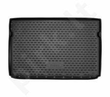 Guminis bagažinės kilimėlis CITROEN C3 Aircross 2018-> ,black /N08034