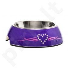 Rogz Dubenėlis Bowzl Medium Purple Chrome 350ml