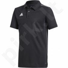 Marškinėliai futbolui Adidas Core 18 Polo Junior CE9038