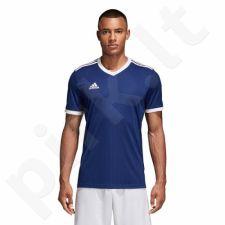 Marškinėliai futbolui adidas Tabela 18 Junior CE8937