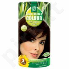 HENNAPLUS ilgalaikiai plaukų dažai Dark Copper Brown