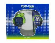 Police Mr Beat, To Be, rinkinys tualetinis vanduo vyrams, (EDT 40 ml + dušo želė 100 ml)