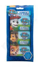 Nickelodeon Paw Patrol, Hand & Face Wipes, drėgnosios servetėlės vaikams, 30pc
