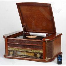 Retro stiliaus muzikinė sistema su patefonu CAMRY CR-1111