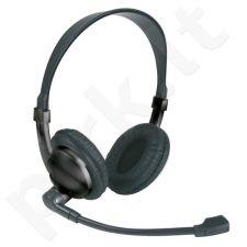 Ausinės -stereo mikrof.TREVI 642