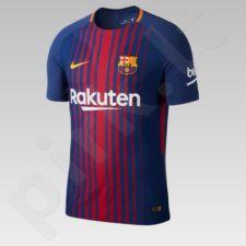 Marškinėliai futbolui Nike FCB  Vapor MTCH SS HM M 847190-456