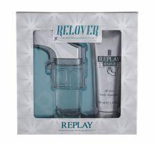 Replay Relover, rinkinys tualetinis vanduo vyrams, (EDT 50 ml + dušo želė 100 ml)