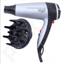 Adler AD 2239 Hair dryer, 2000W, 2 speed settings, Concentrator & diffusor,