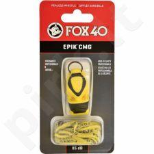 Švilpukas Fox40 EPIK CMG + virvutė geltonas 8803-0208