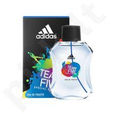 Adidas Team Five, Special Edition, tualetinis vanduo vyrams, 100ml