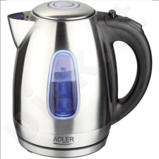 Adler AD 1223 Cordless Water Kettle, 1.7L, 2200W, Auto-off, Anti-calc filter