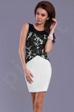 Emamoda suknelė - balta 8306-3