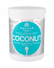 Kallos Cosmetics Coconut, plaukų kaukė moterims, 1000ml