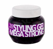 Kallos Cosmetics Styling Gel, Mega Strong, plaukų želė moterims, 275ml