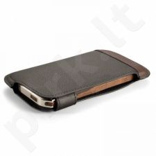 PREKĖ ŽEMIAU SAVIKAINOS! Aukštos kokybės Grain dėklas skirtas iPhone 5/5s rudas