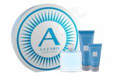 Azzaro Chrome, rinkinys tualetinis vanduo vyrams, (EDT 100 ml + balzamas po skutimosi 50 ml + dušo želė 100 ml)